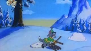 Том и Джери №2 На лыжах.