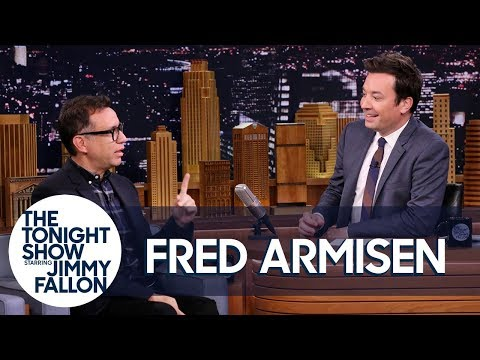 Fred Armisen and Jimmy Have a Nonsense