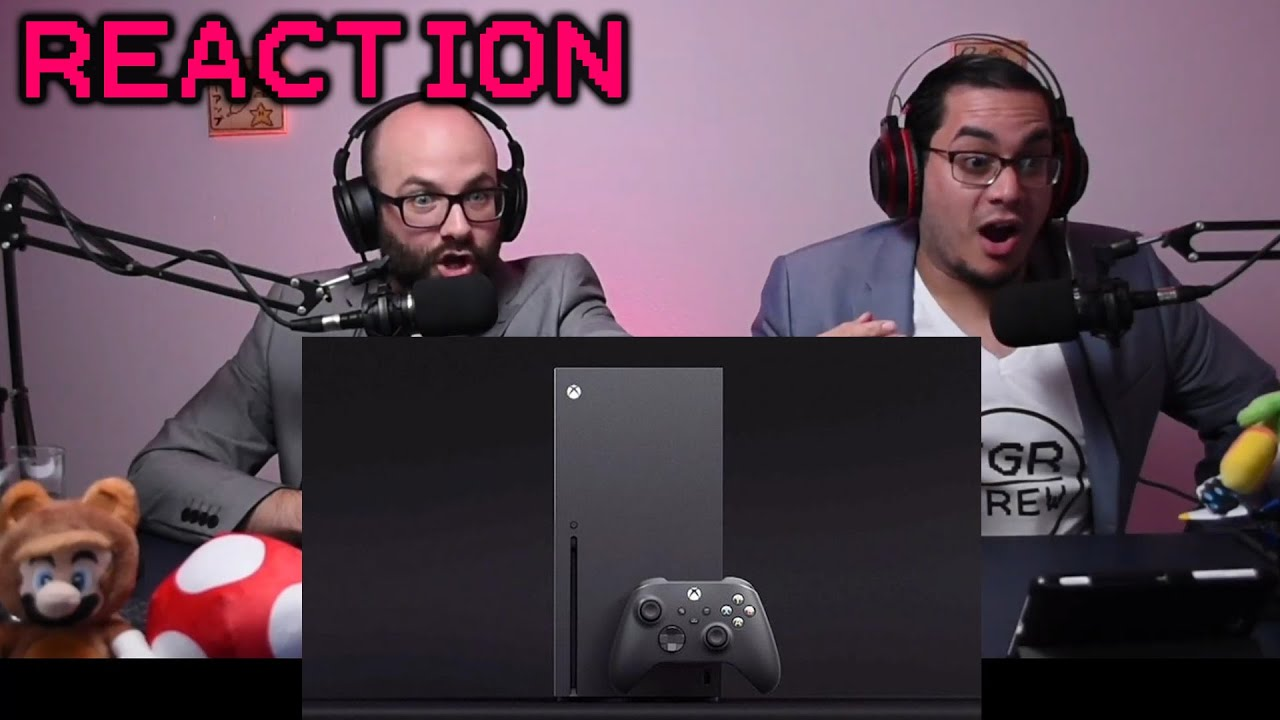 Xbox Series X Announcement Reaction The Game Awards 2019