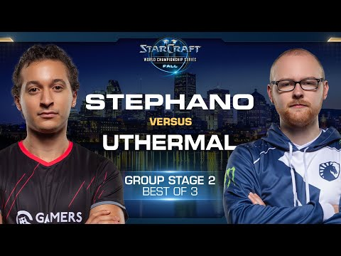 uThermal vs Stephano TvZ - Group Stage #2 - WCS Fall 2019