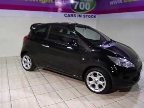 ford ka exterior interior tour of a 60 plate ka 16v titanium 3dr youtube. Black Bedroom Furniture Sets. Home Design Ideas
