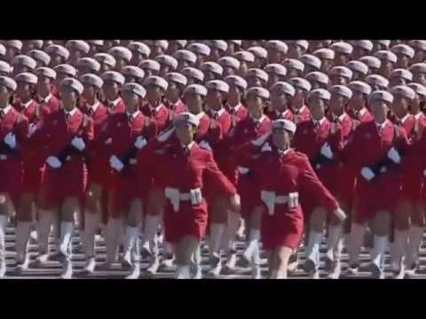 """China 60th """"Прощание китайской славянки""""- марш"""