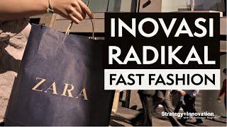 Zara Disrupsi Industri dengan Inovasi Fast Fashion
