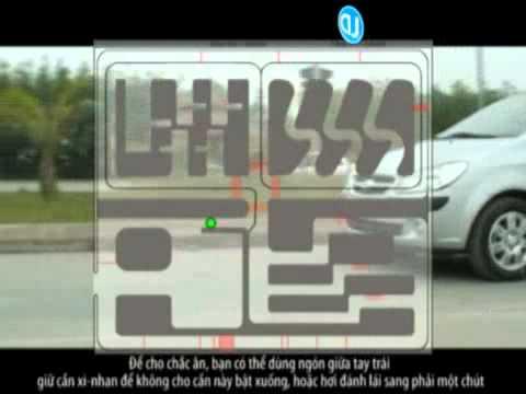 Học lái xe: xử lý các tình huống khi lái xe - (Bài 14 Bài thi kết thúc)