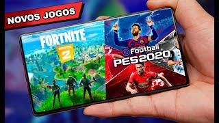 SAIU Fortnite 2 Mobile, PES 2020 e NOVOS jogos ANDROID 2019