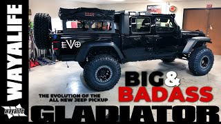 Gambar cover Jeep Gladiator Truck EVO Manufacturing BIG and BADASS JT Pickup Build Coming Together