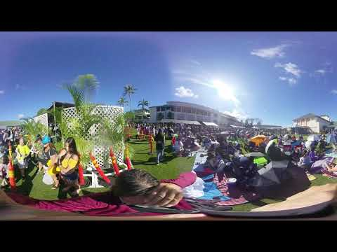 The Kamehameha Schools' Ho'olaulea 2019 #1 - a 360° Virtual Reality Video
