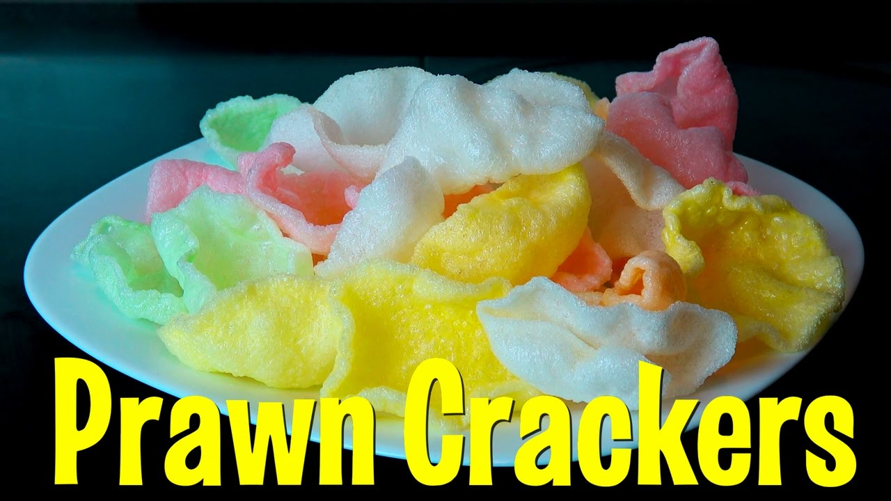 Prawn Crackers Cool Magic Food Colored Chinese Shrimp Chips