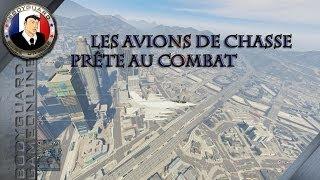 GTA 5 Online Les avions de chasse prêt au combat