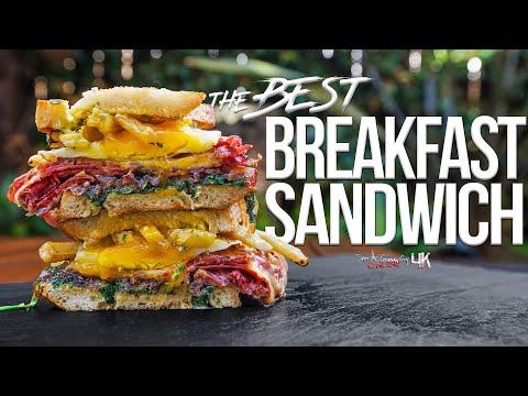 The Best Breakfast Sandwich   SAM THE COOKING GUY 4K