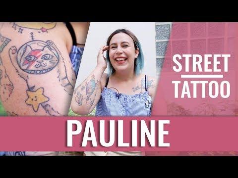 STREET TATTOOS — PAULINE (@ Souchka)