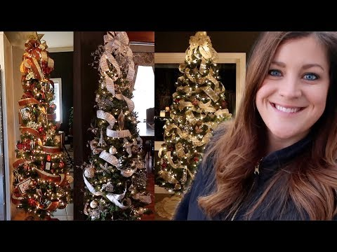 Decorating Lots Of Christmas Trees! 🎄😁// Garden Answer