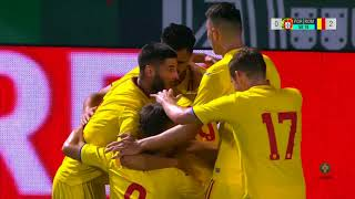 Rezumat U21: Portugalia - România 1-2