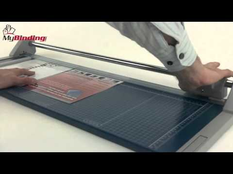 """Dahle Model 554 28"""" Professional Rolling Trimmer Demo"""