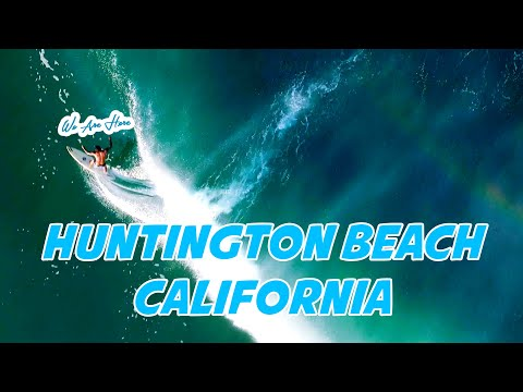 Huntington Beach California USA - The Most Beautiful Beach In South California I The Vu We Are Here