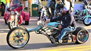 DAYTONA BEACH BIKE WEEK 2020   BIKES ON MAIN STREET