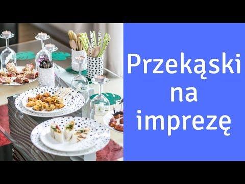 Przekąski na imprezę - proste przepisy, gotowa lista zakupów i wersje do druku | Ugotowani.TV HD