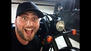 BOUGHT A MOTORCYCLE!