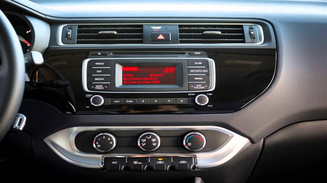 Kia Rio 2017 Interior >> Kia Rio 2017 Interior Car Specs Performance Show Youtube