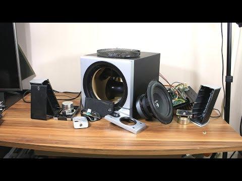Look inside Logitech Z-2300 speaker - What's Inside? PART II