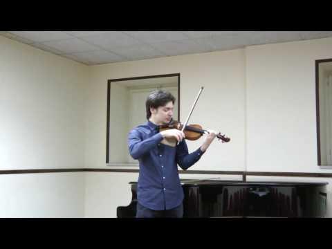 Andrea Obiso | N. Paganini - Caprice No. 11