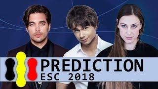 ESC 2018 | Grand Final Prediction