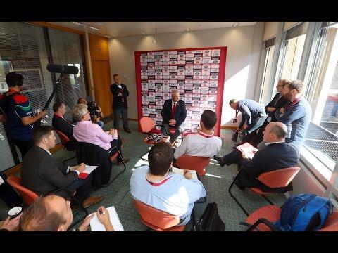 Behind The Scenes: Warren Gatland named Lions Head Coach | British & Irish Lions