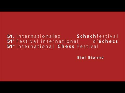 ACCENTUS Grandmaster Tournament Biel 2018 - Round 9