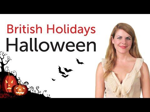 British English Holidays - Halloween