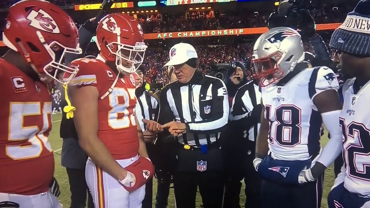patriots vs chiefs coin toss