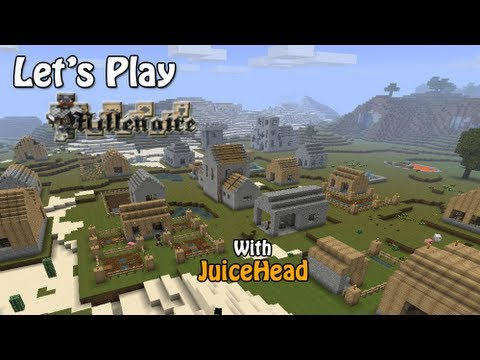 Minecraft Japanese Village let's play millenaire - day 13 - the japanese village - youtube