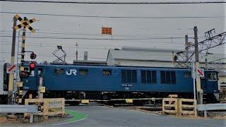 JR高崎線    和田多中踏切(E131系配給)