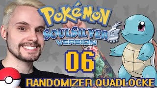 Pokémon SoulSilver Randomizer Quadlocke Part 6 - Mad At Myself
