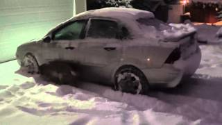 Salem, Oregon Snow Storm 02-07-2014