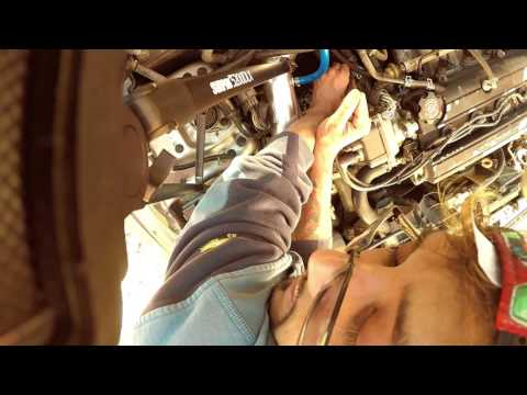 How to replace the Coolant Temperature Sensor on a 2001