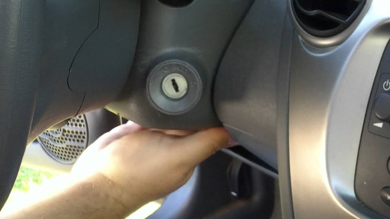 Saturn Ion ignition switch replace part 1  YouTube