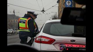 Így vezet a magyar, ha nem látja a rendőrt