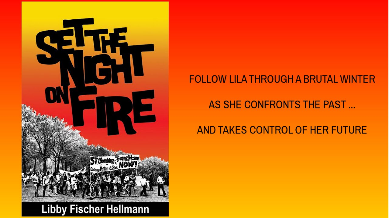 Set the Night on Fire - part thriller, part historical and