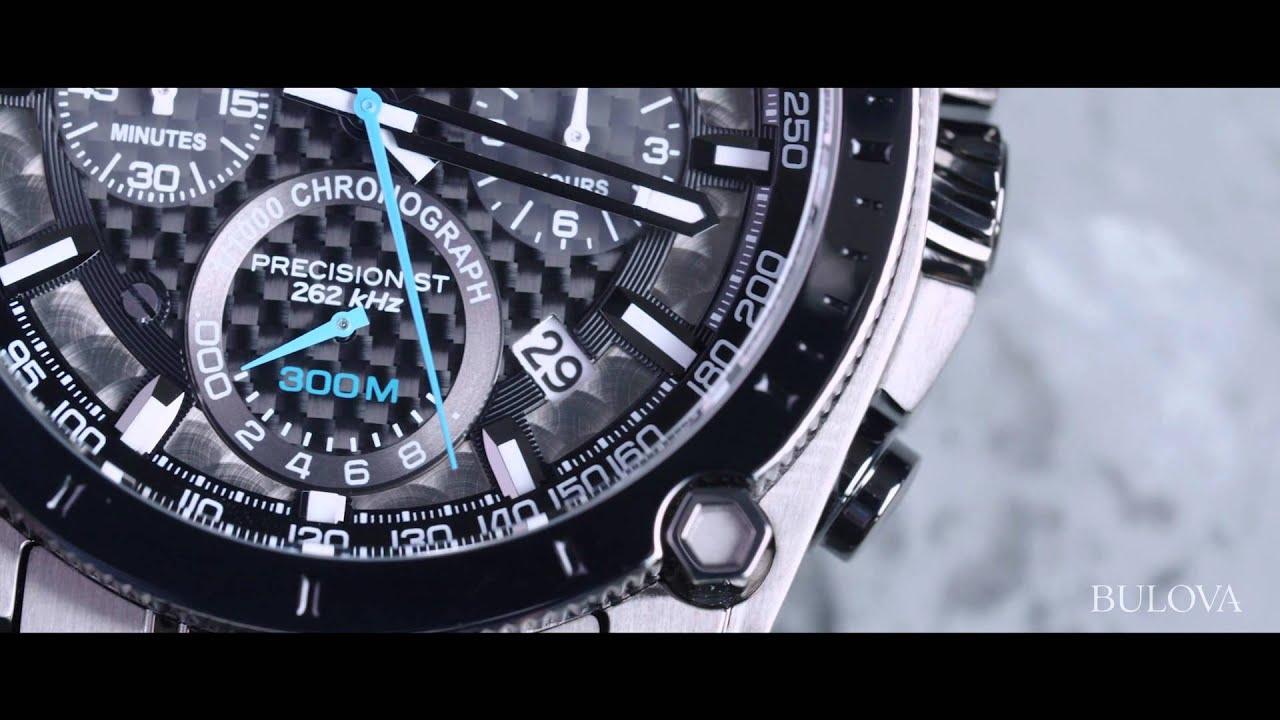 Bulova Precisionist Chronograph - YouTube