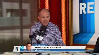 ESPN's Brian Windhorst Predicts Cavs Will Trade Kyrie Irving | The Rich Eisen Show | 7/24/17
