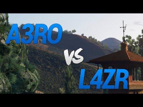 A3RO vs L4ZR 3° GUERRA 7x7 PART 2 (XB 360)