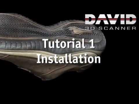 David Sls 3 Hd 3d 3d Scanner Training Tutorial 2 Setup