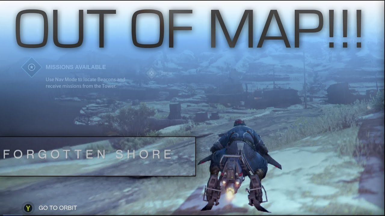 destiny beta out and under forgotten shores earth youtube