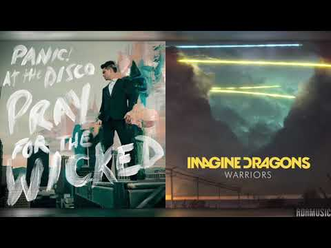 Panic! At The Disco  Say Amen Saturday Night Imagine Dragons Remix