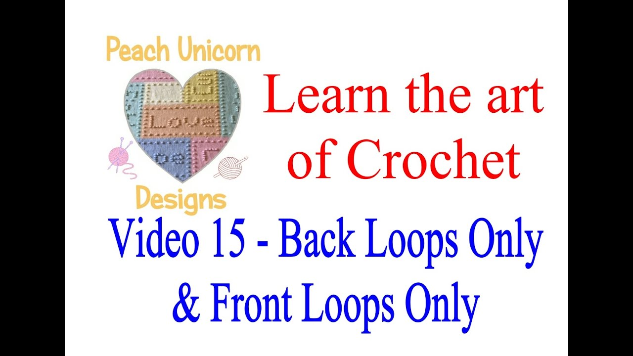 Video 15 Back Loop Only And Front Loop Only Blo Flo Learn To