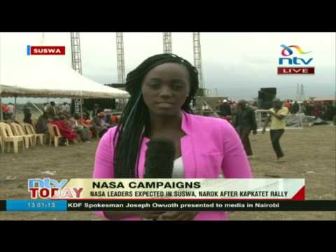 Nasa leaders expected in Suswa, Narok after Kapkatet rally