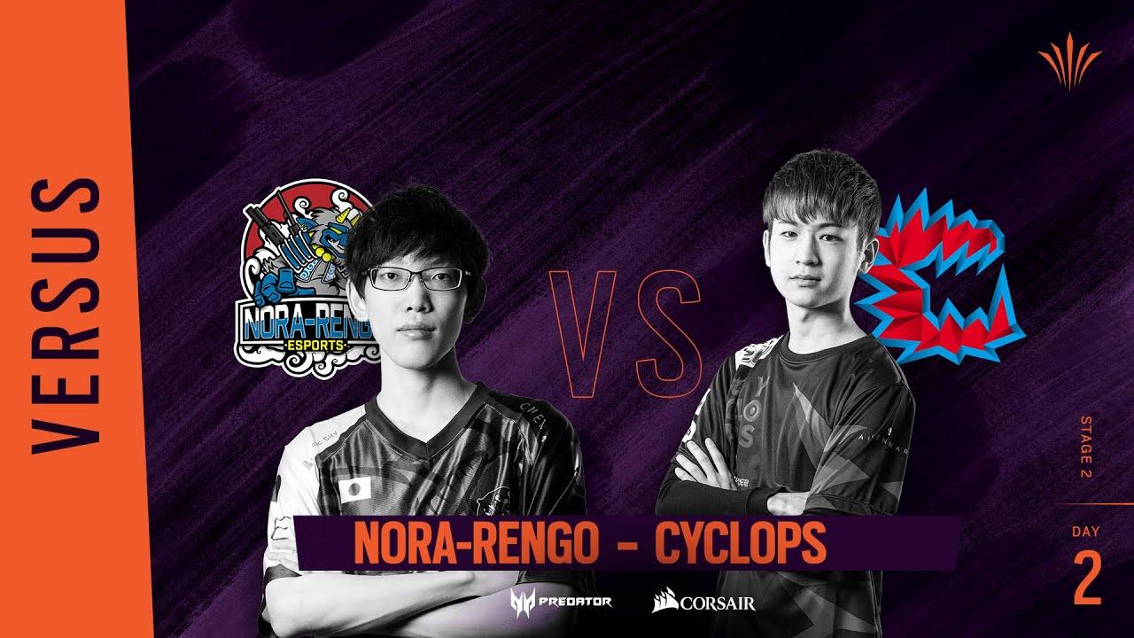 Nora-Rengo vs Cyclops // Rainbow Six APAC North Division 2020 - Stage 2 - Playday #2