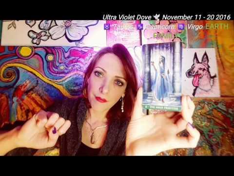 11 - 20 November 2016 ♉ TAURUS ♍ VIRGO ♑ CAPRICORN 🌍 EARTH SIGNS 🌎 MID MONTH Psychic tarot oracle