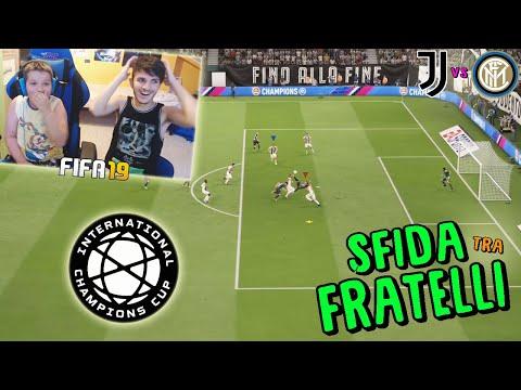 JUVENTUS vs INTER - DERBY nella CHAMPIONS CUP! - Fifa 19