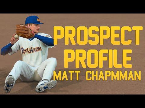 MLB The Show 16: Athletics Franchise - Matt Chapman Prospect Profile